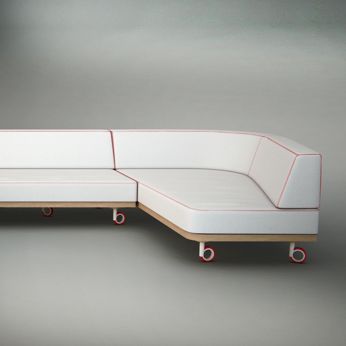 Knife Sofa / Just Roll With It
